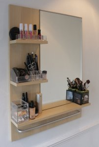 My make-up area