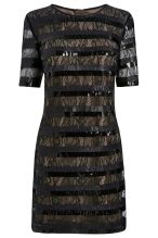 Stripe Sequin Dress by Next
