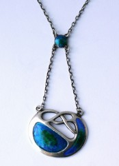 Art Nouveau necklace by Charles Horner