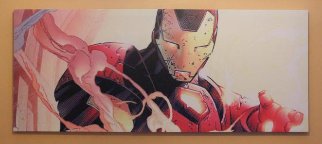 Iron Man canvas