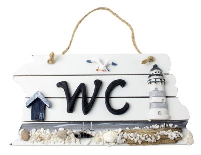 WC sign - product photo