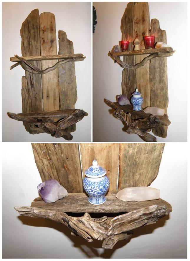 Driftwood Shelf - eBay pics