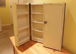 Slim cabinet