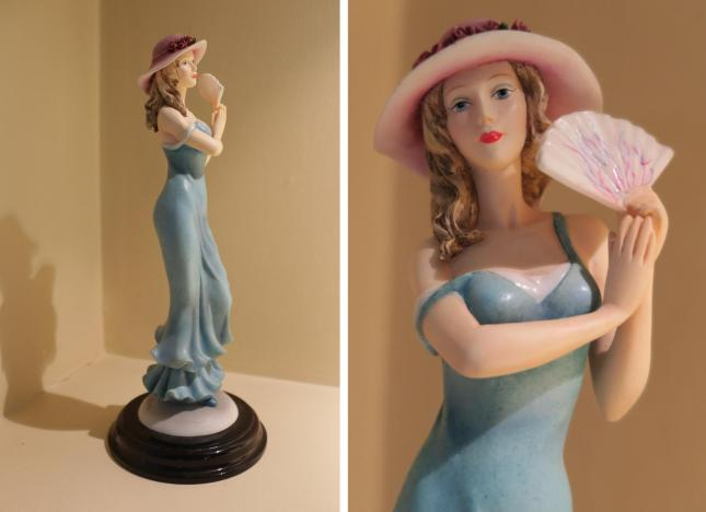 Leonardo / Annie Rowe figurine