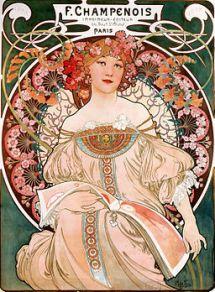F. Champenois Imprimeur-Éditeur by Alfonse Mucha, 1897