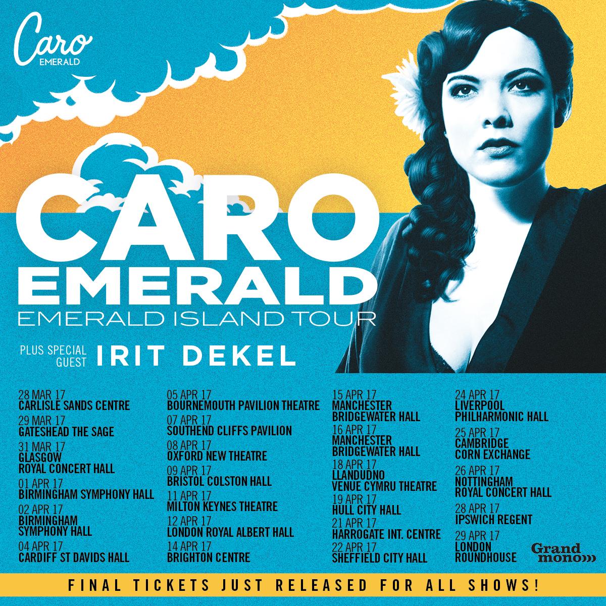 Caro Emerald  Tour Dates