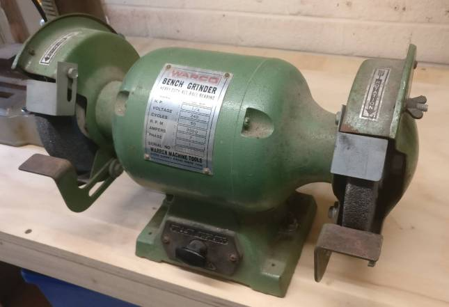Warco bench grinder